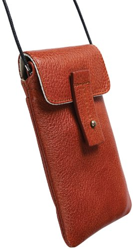 Krusell Tumba Mobile Case Cognac Brown, 95365 (Cognac Brown)