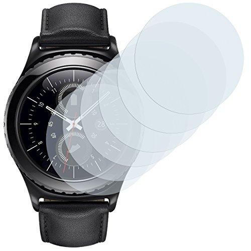 mumbi Schutzfolie kompatibel mit Samsung Gear S2 Folie klar, Bildschirmschutzfolie (6X)