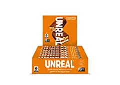 UNREAL is on a mission to build a world where you don't have to be afraid of your food, starting with your favorite indulgent snacks. INDIVIDUALLY WRAPPED: Each bag contains 12 individually wrapped dark chocolate caramel peanut nougat bars. ALL-NATUR...