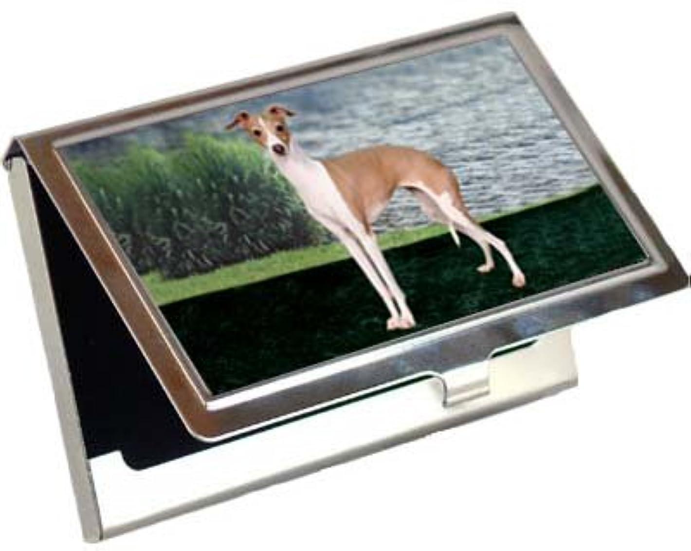 援助するシャンプー穀物italalian Greyhoundビジネスカード/クレジットカードケース