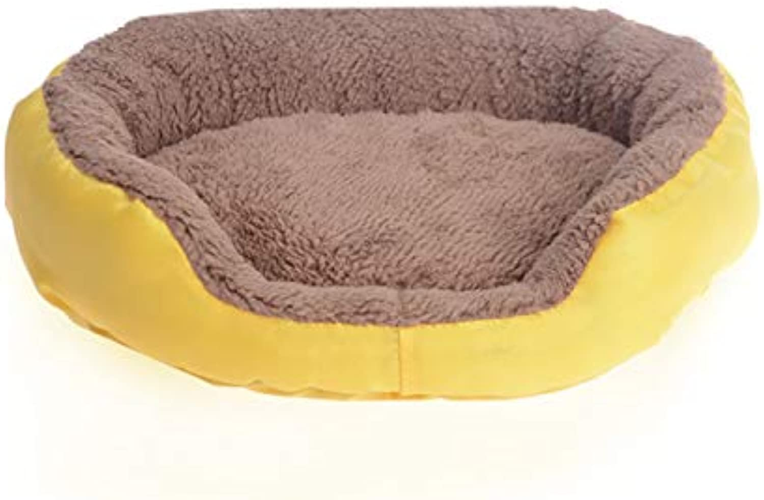 CHONGWUCX Candy colord Round Pet Pocket Woolen, l