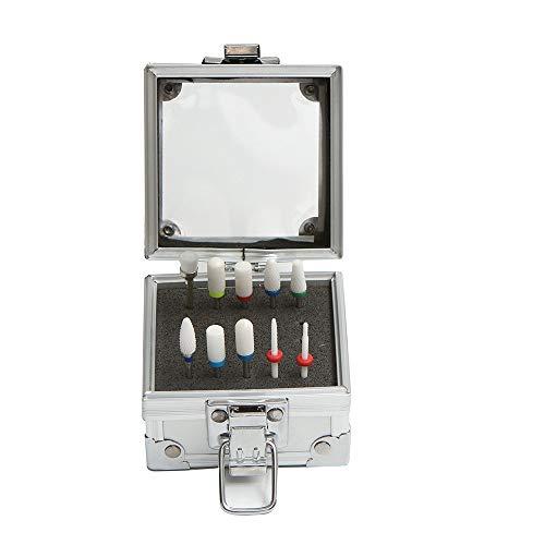 Fasclot 1PC Manicure Accessories Box Carbide Bits Nail Drill Box Bit Nail Polish Tool