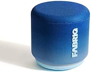 FABRIQ Portable Wi-Fi and Bluetooth Smart Speaker with Amazon Alexa (Blue Steel)
