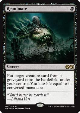 Magic: The Gathering - Reanimate - Ultimate Masters - Rare