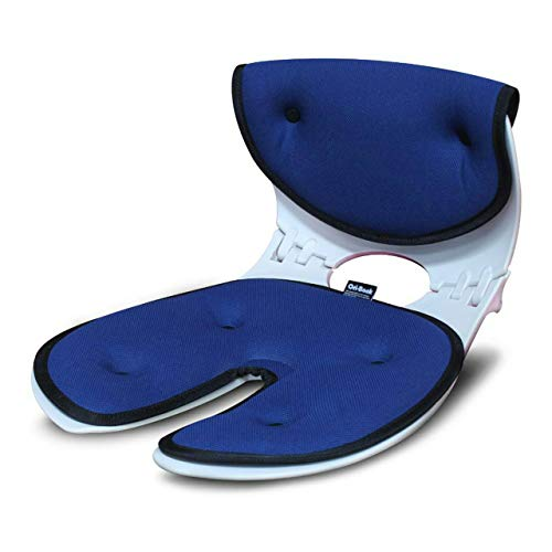 OriBack【オリバックチェア】 骨盤サポート椅子 姿勢 矯正 クッション(メーカー純正) 1年保証 (アーバンブルー)