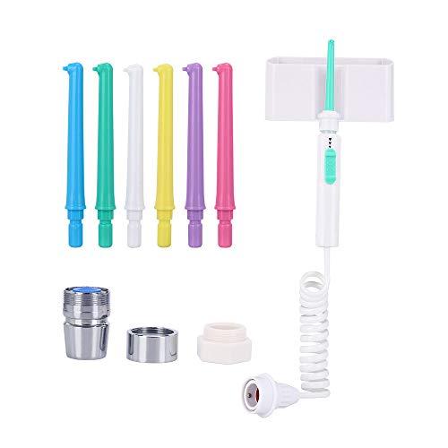 Irrigador Oral, 4 Puntas, No Se Requieren Baterías Ni Electricidad, Grifo Colorido, Hilo Dental Chorro Agua Dental, Producto Cuidado Dental Dental Spa, Cuidado Dental