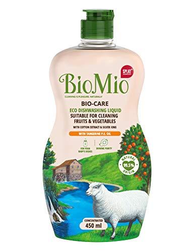 BioMio Bio-Care Dishwashing - Up Liquid - Tangerine, 450 ml