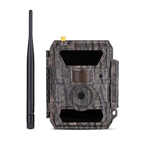 WILDGAMEPLUS® 3G-Modellnetz-Jagdkameras IP66 Wasserdichte Waldüberwachung Tierbewegungserkennung E-Mail-Alarm Tag / Nachtsicht Wild IR-Kamera mit iOS- und Android-APP-Fernbedienung WG-35CG