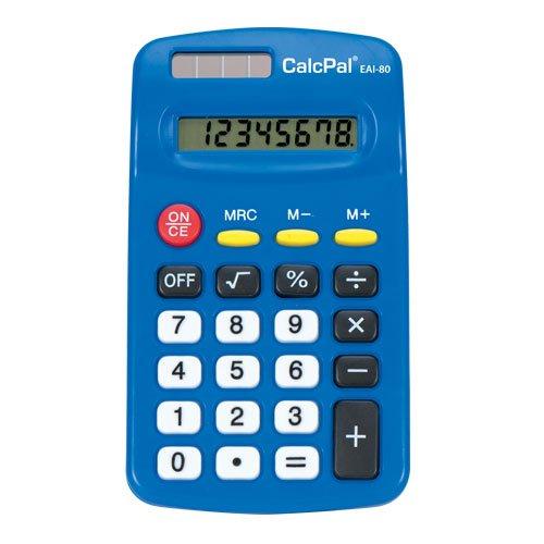EAI Education CalcPal EAI-80 Basic Calculator