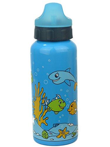 Unbekannt Kinderflasche Aluminium 400 ml Trinkflasche Togo Flasche Wasserflasche 0.4l