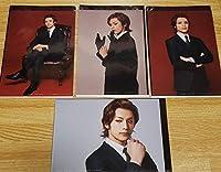ミュージカル 憂国のモリアーティ アルバート 久保田秀敏 ブロマイド写真 4枚セット