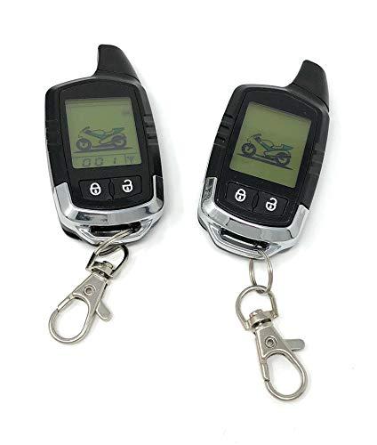 Dispositivo de alarma profesional para moto, hasta 5 km, uso universal para todas las motos con 12 V