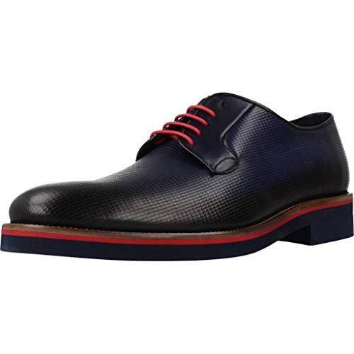 Angel Infantes Zapatos 99452A para Hombre Azul 43 EU