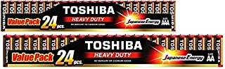 TOSHIBA AA24 R6KGMP24T & TOSHIBA AAA24 R03KGMP 24T - Heavy Duty 24 AA Battery & 24 AAA Battery Value Pack Offered By Eze-M...