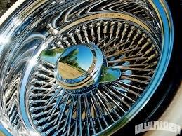 14 inch daytons wire wheels - 1