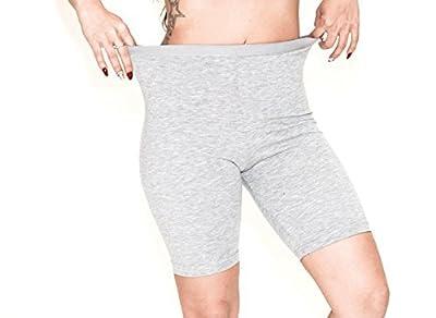 ILKE Women's 2 Pack Cotton Active Dance Running Yoga Boyshorts Boxer Brief