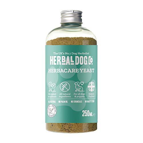 Yeast Support | Natural Supplement | Dog & Puppy | 250ml | Powder Formula | 1 to 2 Month Supply | Yeast Balance
