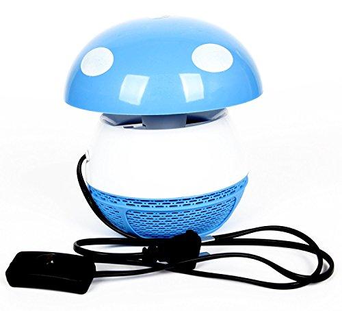 FreshGadgetz Lot de 1 Photocatalyse électronique lampe LED anti moustique (Bleu)