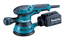More Power for Faster Sanding and a Smooth Finish Smooth and fast sanding with 3.0 AMP motor Variable speed control dial (4,000-12,000 OPM) enables user to match the sanding speed to the application Ergonomic rubberized palm grip and handle for impro...