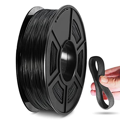 Filamento para impresora 3D de TPU, filamento de TPU de 1,75 mm, compatible con impresora 3D FDM, bobina de 0,5 kg, precisión...