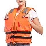 Snorkel Vest Unisex Buoyancy Aid Safty Jacket Snorkeling Swimming Float Vest Inflatable Kayak