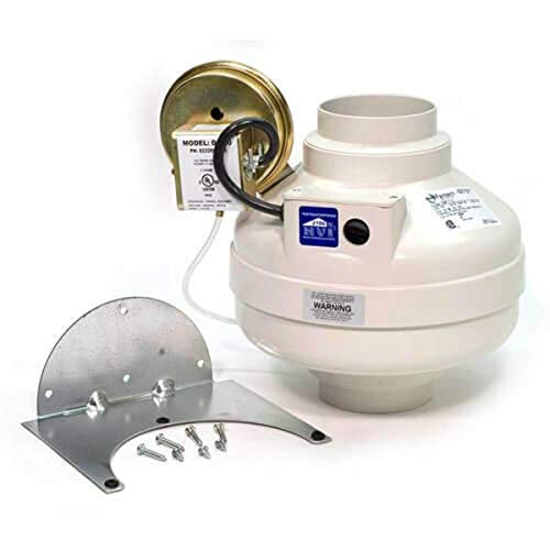 """Fantech DBF 110 Dryer Booster Fan 4"""" Duct 167 CFM"""