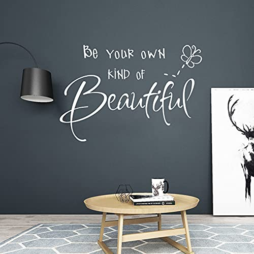 Wall Decor for Bedroom Teen Girl Wall Stickers Quote, Be Your Own Kind...