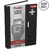 L'ÉTUDIANT Plus Agenda Scolaire Aout 2020 - Août 2021 Journalier Format 15x20cm Couverture Noire avec Application Réalité Augmentée