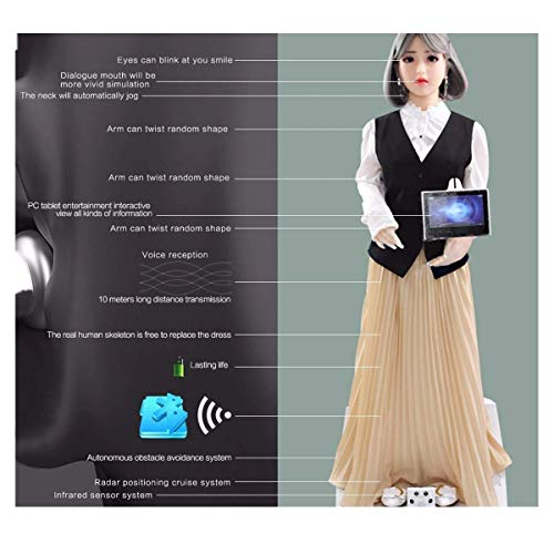 Full Smart AI Sex Doll Robot,Artificial Intelligent,Can Walking,Speak,Eyes,Lip,Mouth,Head,Arm,Hand Can Move