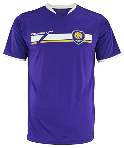 adidas MLS Men's Mass Soccer Jersey, Orlando City SC X-Large