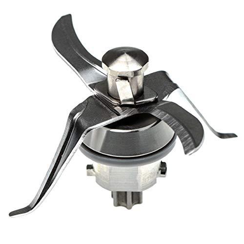 vhbw Mixmesser Ersatz für Thermomix 10028639 für Küchenmaschine - mit 4 Klingen aus Edelstahl