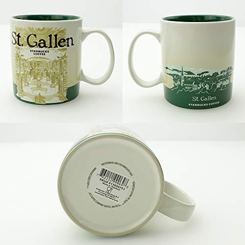 Starbucks Kaffeebecher Kaffee City Mug Tee Tasse Becher Icon Series St. Gallen Schweiz Switzerland