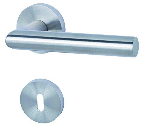 Alpertec 88020502 Edelstahl Fair I-R für Zimmertüren Drückergarnitur Türdrücker Türbeschläge Neu