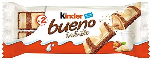 Kinder Bueno White 10 unidades x 2 barritas