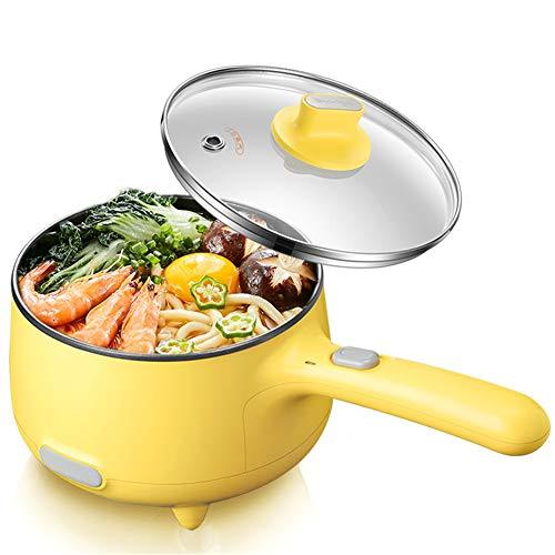 N / C Sartén Antiadherente para el hogar, fácil de Limpiar y Usar, 1.2L, Seguro de Usar, Olla arrocera de 1.2L Adecuada para cocinar Fideos, Olla Sha, Agua hirviendo y Huevos, etc.