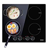 Best induction hobs - Induction Hob 60CM Electric Cooktops 4 Burners Cooker Review