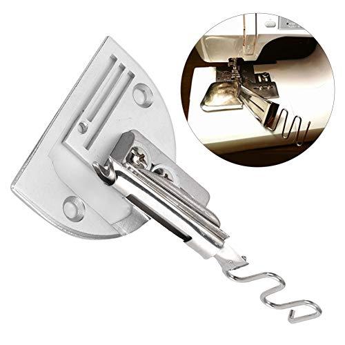Máquina de coser industrial, encuadernador de sesgo de ángulo recto de doble pliegue ajustable, accesorio de encuadernación DIY de 12mm para máquina de coser