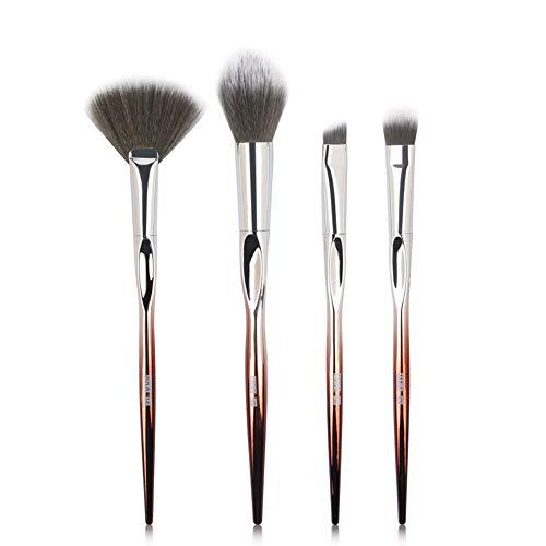 HANHOU Ensembles De Pinceaux De Maquillage 4Pcs,A-OneSize