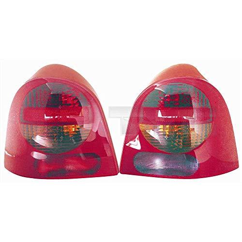 Heckleuchte Rückleuchte Rücklicht links für Modell Twingo (C06) Baujahr: 09/1998-06/2004 Kunststoff ohne Lampenträger