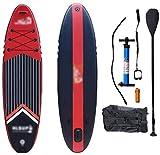 LXDDP Tabla Remo Inflable pie, Tabla Surf portátil Tabla Sup Aleta Inferior Cubierta Antideslizante para remar para jóvenes y Adultos.