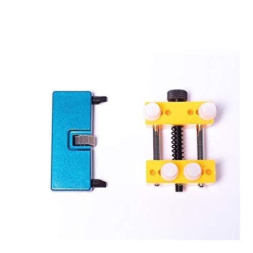 meimeijia Diseño Herramientas del Reloj Portable Ajustable reparación Abierta de Nuevo Caso removedor mire los Kits de Herramientas for un abridor de Tapa de la batería Cambio Robusto (Color : Set 4)