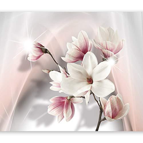 murando Fototapete Blumen 350x256 cm Vlies Tapeten Wandtapete XXL Moderne Wanddeko Design Wand Dekoration Wohnzimmer Schlafzimmer Büro Flur Blumen b-A-0201-a-b