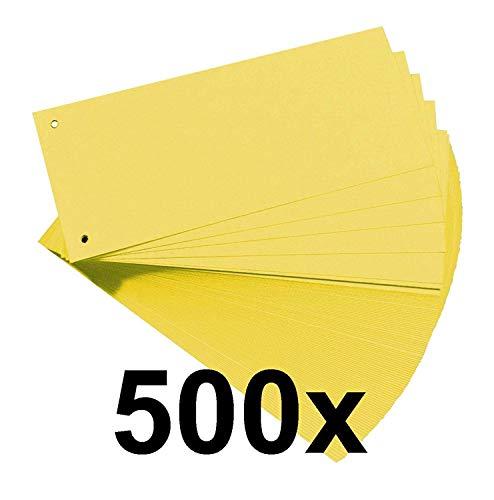 Herlitz 10843480 Trennstreifen (5x Gelb)
