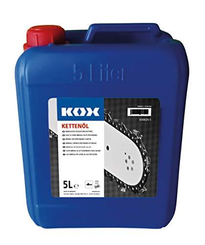 KOX Sägeketten-Haftöl, 5 Liter, mineralisches Kettenöl