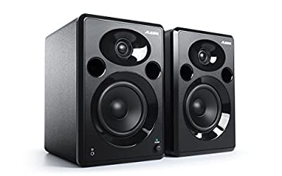 Alesis Elevate 5 MKII | Powered Desktop Studio Speakers for Home Studios/Video-Editing/Gaming and Mobile Devices from inMusic Brands Inc.
