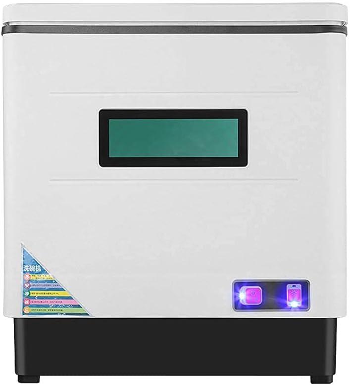 MOSHUO Lavaplatos automático, lavaplatos Inteligente de Escritorio, 360 & deg;Tecnología de pulverización Envolvente, fácil de Limpiar, diseño de bajo Consumo energético, bajo Nivel de Ruido