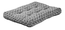 MidWest Homes for Pets Deluxe Super Plush Pet Beds, Machine Wash & Dryer Friendly
