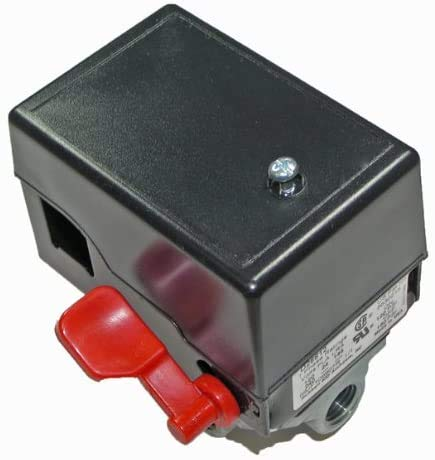 Porter Cable C3150 / C2550 Air Compressor Replacement 4 Port Pressure Switch # 5140117-89