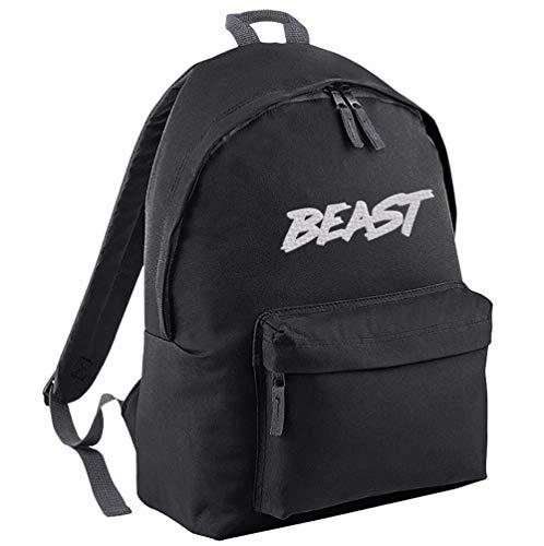 TeeIsland MR Beast Backpack (Black/White)