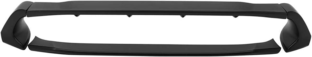 Trunk Spoiler Compatible With 2012-2015 Honda Civic | Unpainted ABS Car Exterior Trunk Spoiler Rear Wing Tail Roof Top Lid by IKON MOTORSPORTS | 2013 2014